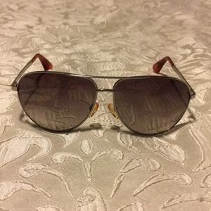 Marc by Marc Jacob brown aviator sunglasses